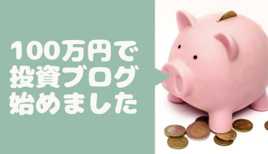 【個人投資家研究所】100万円で株式投資を始めました