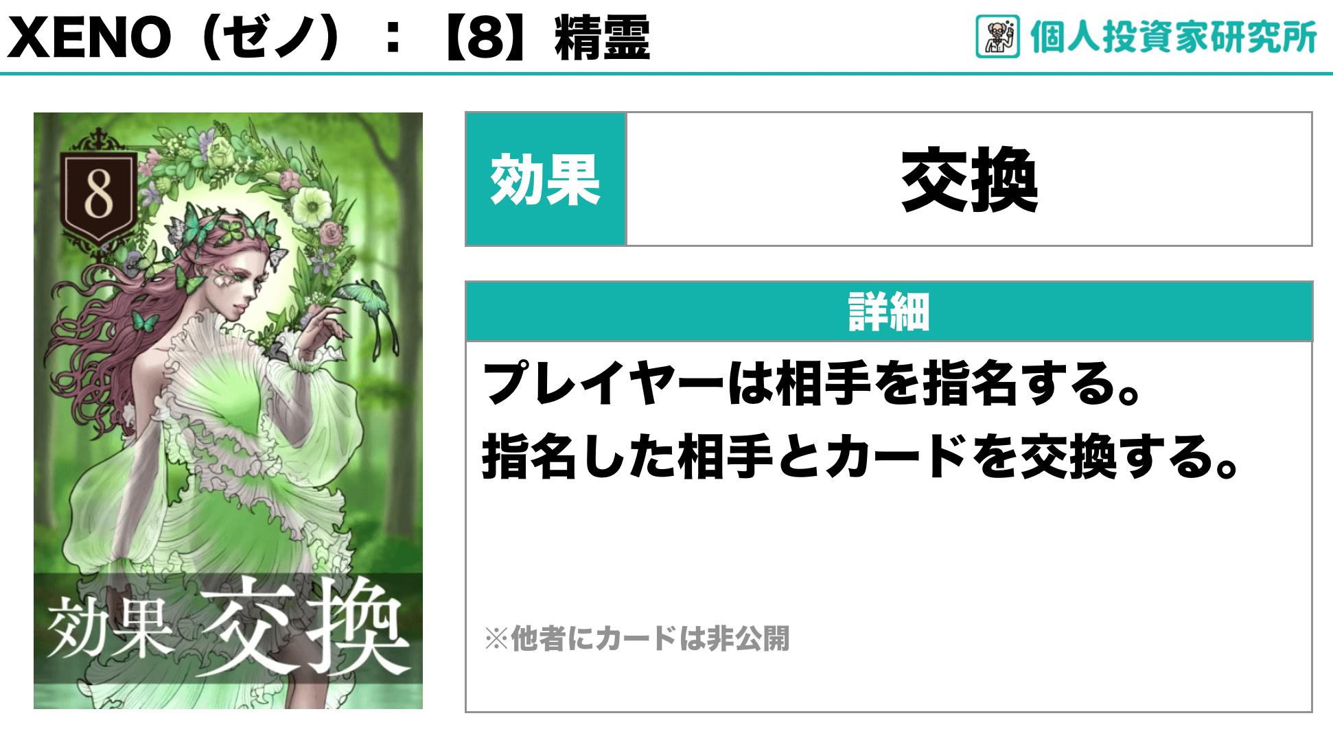 【ルール_カードの効果】中田敦彦さん考案のカードゲーム・XENO(ゼノ)8